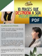 Maratona da Virada - 10 Frases que Destroem sua Prosperidade (Marcia Luz)