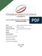 Análisis Del Sistema Financiero Peruano