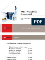 17828187 Presentation on Project Cost Management Final