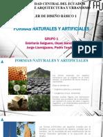 8 FORMAS NATURALES Y ARTIFICIALES