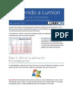 MANUAL PARA USO DE LUMION 9.0.2