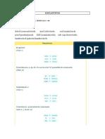 Gramática first