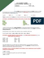 nivelacion de español 2