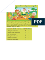 Listening, reading and writing activities - the family.doc
