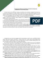RISCO EB DECORRENTES DE MANIFESTAÇAO POLITICA DE MILITARES