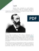 Wilhelm Wundt Biografía