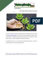 Importancia de Aplicar Fertilizante
