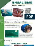 COMENSALIMO - ECOLOGÍA GENERAL.pptx