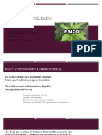 Toxicologia Del Paico
