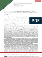 Reseña Bibliotecas y cultura letrada en América Latina