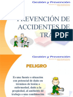 PREVENCION DE ACCIDENTES DE TRABAJO