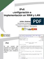 Conferencia - IPv6 Configuración e implementación en WAN y LAN