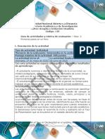 Guía de actividades y rúbrica de evaluación - Unidad 1- Paso  2 - Primeros pasos en un foro.pdf