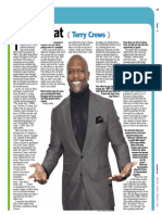 "Newsday ""Fast Chat"" - Terry Crews"