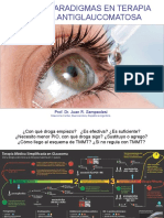 NUEVOS PARADIGMAS EN TERAPIA MÉDICA ANTIGLAUCOMATOSA. Prof. Dr. Juan R. Sampaolesi Glaucoma Center, Buenos Aires, República Argentina. (1)