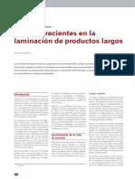 Avances recientes en la laminación de productos largos.pdf