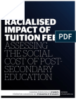 CFS-Ontario - The Racialised Impact of Tuition Fees