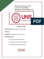 ACTIVIDAD DE ESTRUCTURAS - TAREA 02