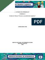 Evidencia 5- Manual Procesos y procedimientos logísticos