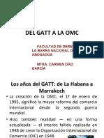 Del GATT a la OMC