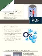 CABINAS DE DESINFECCIÓN CON OZONO - Agüero y Ccahua.pptx