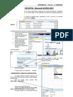 BASES DE DATOS - Microsoft ACCESS 2007-