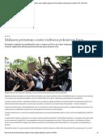 DW Milhares protestam contra violência policial em Paris _ Notícias internacionais e análises _ DW _ 13.06.2020