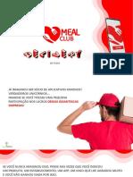 MEAL CLUB APRESENTAÇÃO PRÉ MARKETING