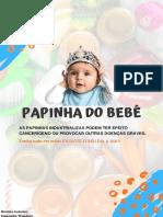 7 Receitas de PAPINHAS + INTRODUÇÃO ALIMENTAR