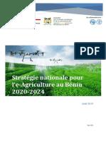 Stratégie nationale e-Agriculture Benin 25-08-2019