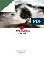 Catálogo La Travesía Editora Mayo 2020_5ok