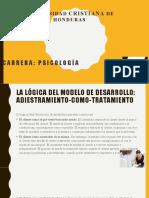 Diapositiva La lógica del modelo de desarrollo Consejería (1)