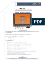 CPS-100 Control de purga de superficie
