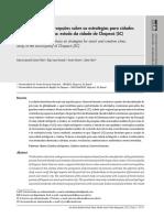 Aspectos legais e percepções sobre as estratégias para cidades inteligentes