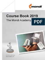 Mondi - Course Book 2019