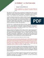 A  Quebra de Maldição e os Não-Pentecostais - Josaías Cardoso Ribeiro Jr