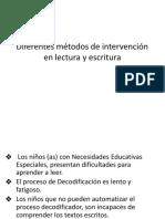 PPT 2 Diferentes métodos de interv,psp