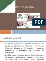 ppt 8 Metodo Gestual