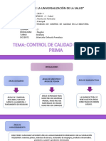 3RA CLASE Control de calidad de materia prima