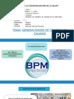 1RA CLASE Generalidades de BPM