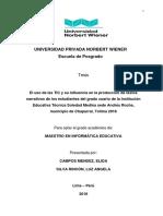 TESIS Campos Elida - Silva Luz