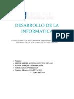 DESARROLLO DE LA INFORMATICA