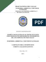 PROYECTO DE INVESTIGACION HIDRICA CORDOVA GALLEGOS CAMPOSANO MEZA