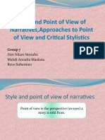 1571669010241_Style and Point of View of Narratives,Approaches to.pptx
