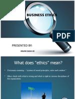 Anjan Ethics