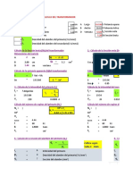 Cálculo de transf. - fórmulas1