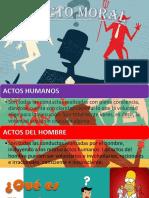 6) El acto humano