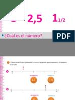 Comparto 'MATEMATICAS - POWER POINT 2 - 5 BASICO' con usted