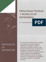 PRINCIPALES TEORIAS  Y MODELOS EN ENFERMERIA
