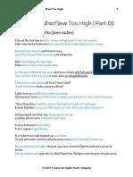 PDF The Boy who Flew too High 05